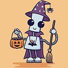 Ned's Halloween Witch by DoodleDojo