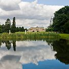 Reflecting on Wrest Park by dozzie