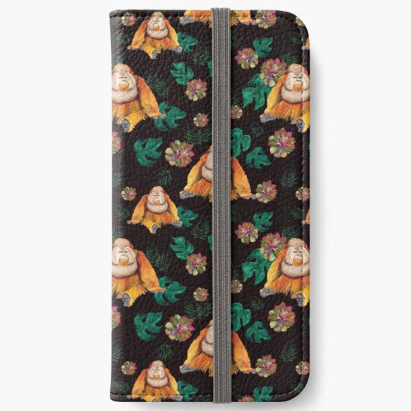 Forest Of Orangutans iPhone Wallet
