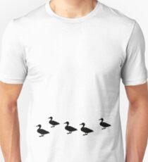 Duck Crossing Unisex T-Shirt