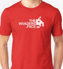 The Invaders Face Unisex T-Shirt