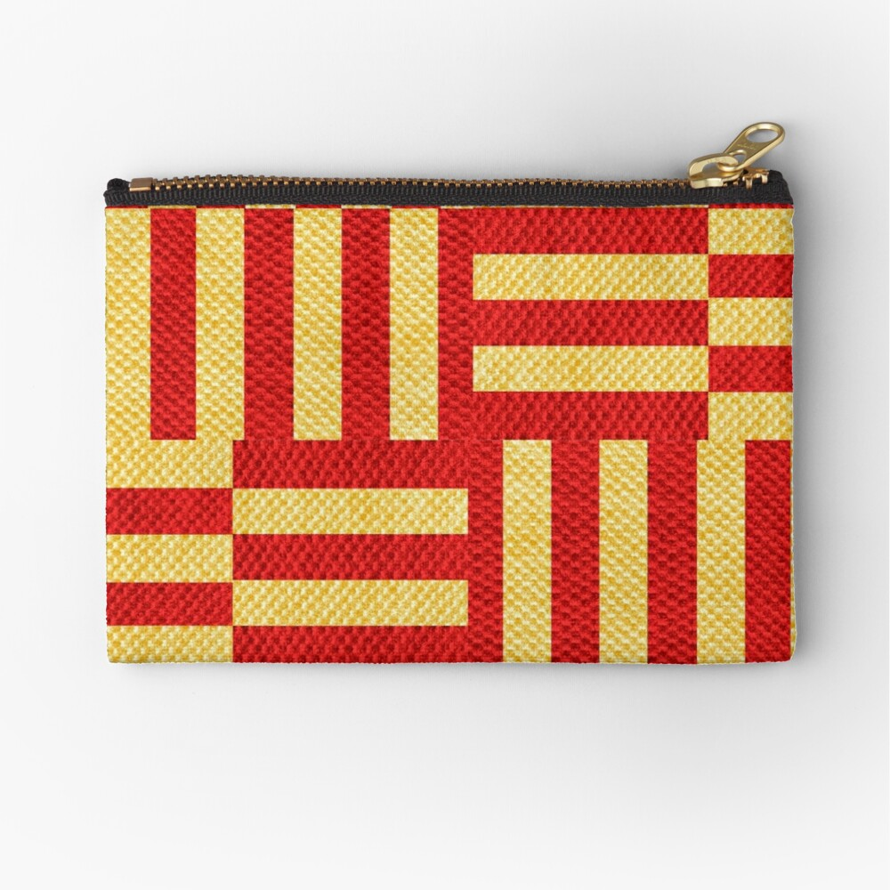 stripes pattern Zipper Pouch