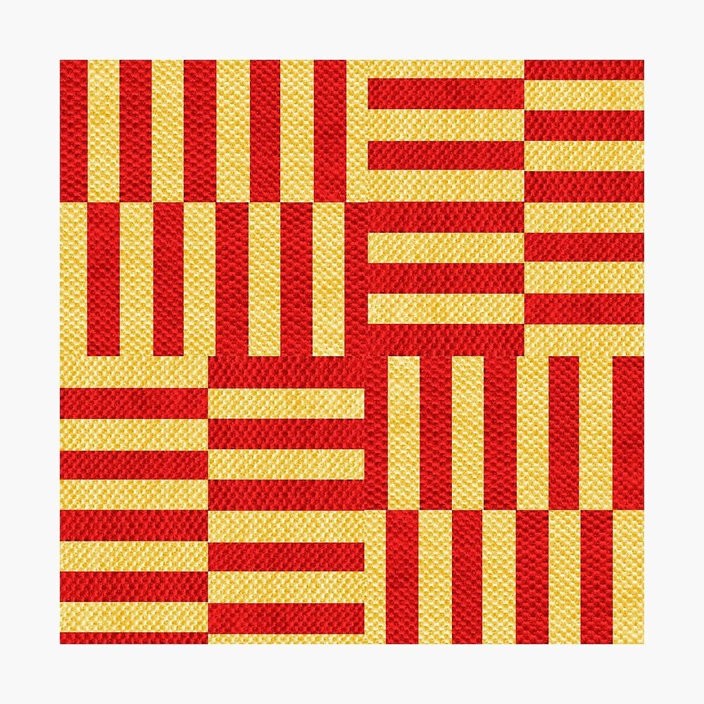 stripes pattern Photographic Print