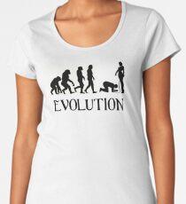Femdom BDSM Evolution Women's Premium T-Shirt