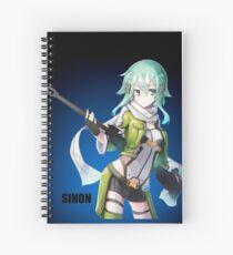 SWORD ART ONLINE (SAO) SINON Spiral Notebook