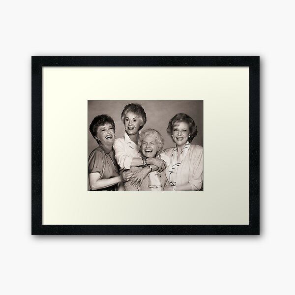 The Golden Girls Framed Art Print