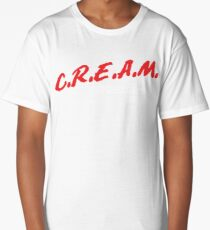 C.R.E.A.M. Cash Rules Everything Around Me Long T-Shirt