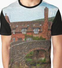 Rural Scene Graphic T-Shirt