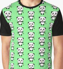 Happy Halloween Horror Panda Raopu Graphic T-Shirt