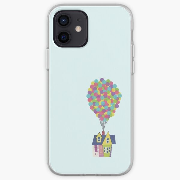 Balloon House Funda blanda para iPhone