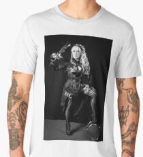 sexy hot steampunk black an white Men's Premium T-Shirt