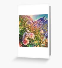 Wake Up Positive Today. Join the Happiness Movement Greeting Card