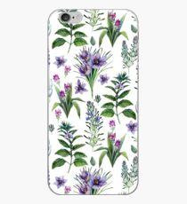Botanische Sammlung des Aquarells Kräuter und Gewürze iPhone-Hülle & Cover