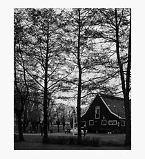 Dutch Rural landscape. photographed in Holland  Photographic Print