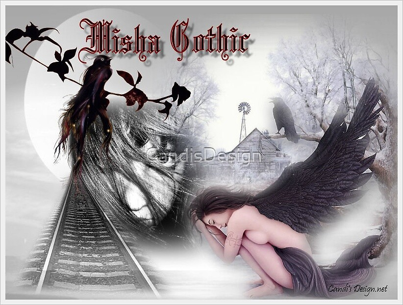 Misha Gothic by CandisDesign