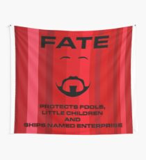 Riker and fate Wall Tapestry