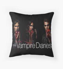 The Vampire Diaries Throw Pillow
