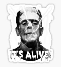 Frankenstein's Monster, It's Alive - Boris Karloff. Sticker