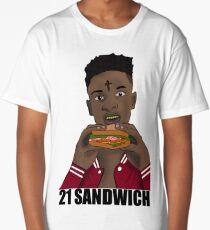 21 Sandwich Long T-Shirt