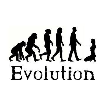 BDSM Dominant Evolution by BDSM-T-Shirt