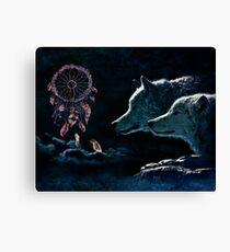 Dream Wolves Canvas Print