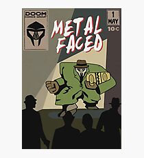 Metal Faced - Comic Cover Photographic Print