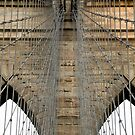Brooklyn Bridge Abstract by Louis Galli