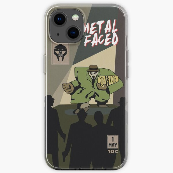 Metal Faced - Comic Cover iPhone Soft Case