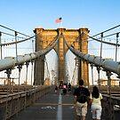 Across The Brooklyn Bridge by Louis Galli