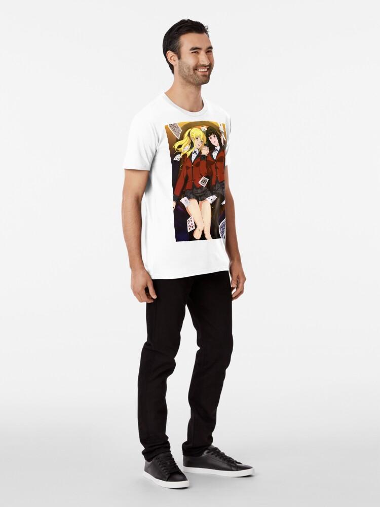 Vista alternativa de Camiseta premium Kakegurui 4