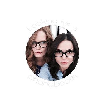 Lana and Bex - Looking for a Phone Booth (Light text) by Kengelina