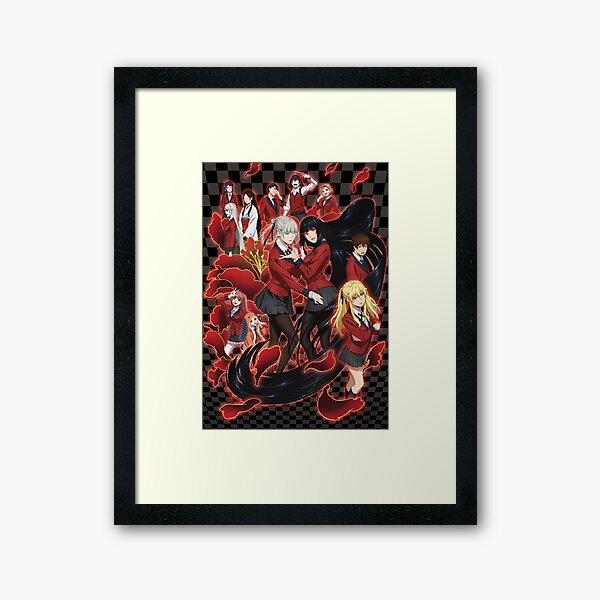 Kakegurui 5 Framed Art Print