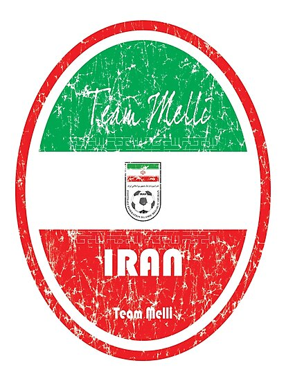 Football - Iran (Distressed) by madeofthoughts