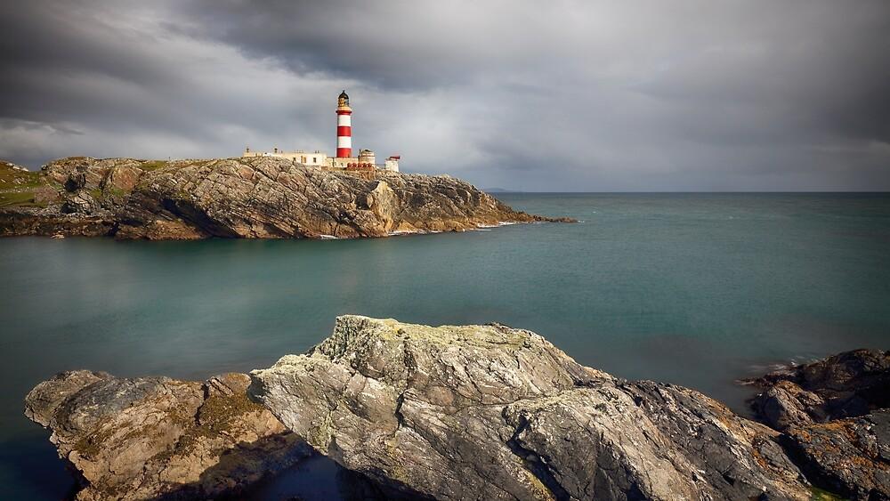 Eilean Glas Lighthouse, Western Isles. by Grant Glendinning
