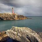 Eilean Glas Lighthouse, Western Isles. by Grant Glendinning