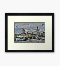 Houses of Parliment Framed Print