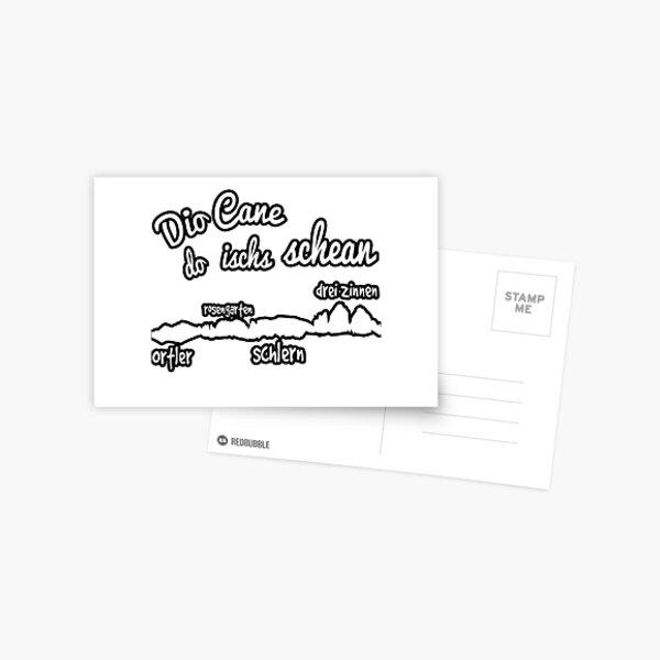 DioCane - do ischs schean Postcard