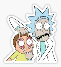 Rick and Morty Funny Picture Sticker