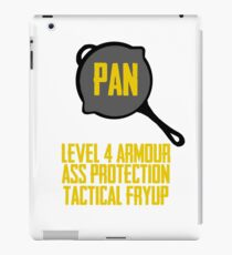 PUBG pan stats iPad Case/Skin