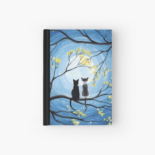 Cats Full Moon  Hardcover Journal