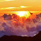 Sunrise on Haleakala by JoAnn GLENNIE