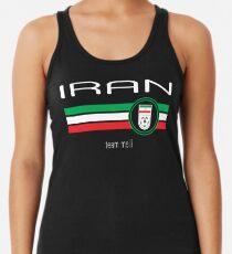 Fußball - Iran (Away Red) Tanktop für Frauen