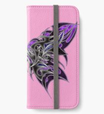Tribal Butterfly 10 iPhone Wallet