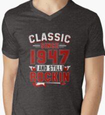 Classic Since 1947 Vintage 70th Birthday Pun Gift T-Shirt
