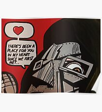 MF DOOM LOVE Poster