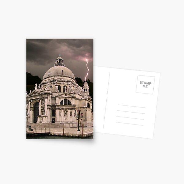 Storm in Venice Postcard