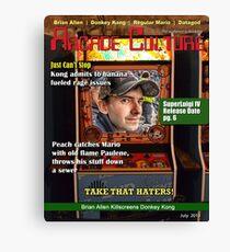 Arcade Culture - July 2013 Canvas Print