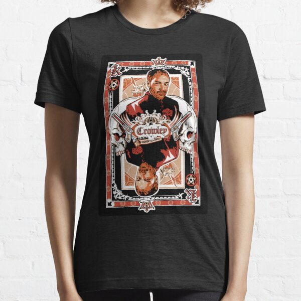 """""""King of Hell"""" - Crowley Supernatural Design Essential T-Shirt"""