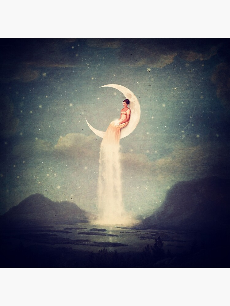 Moon River Lady by BelleFlores