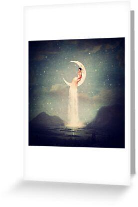 Mondfluss-Dame von Paula Belle Flores